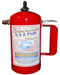 USA Fluid Canister Elliminates Spray Can Waste...